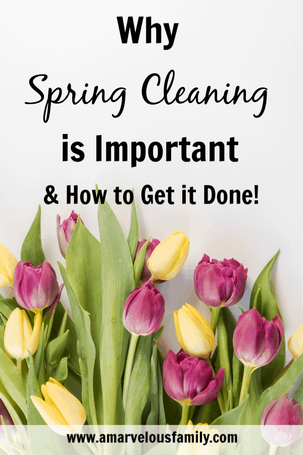 why spring cleaning is important, spring cleaning tips, spring cleaning list, how to spring clean